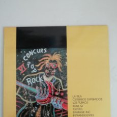 Disques de vinyle: VI CONCURS POP ROCK LA ISLA CEREBROS EXPRIMIDOS.... Lote 172096193