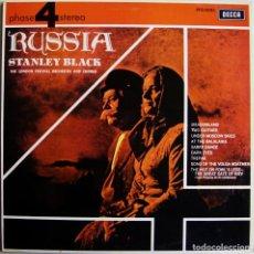 Discos de vinilo: STANLEY BLACK CONDUCTING THE LONDON FESTIVAL ORCHESTRA AND CHORUS-RUSSIA, DECCA-PFS 4084. Lote 172105535
