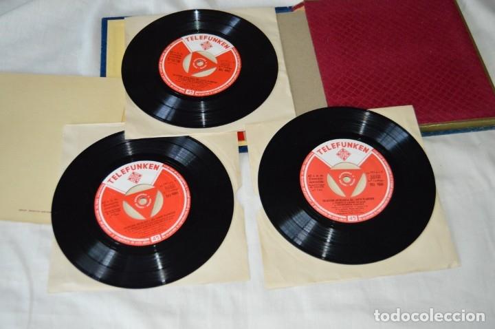 Discos de vinilo: Rarísimo ESTUCHE COMPLETO - TELEFUNKEN 1958 - Selección Antológica del Cante Flamenco - ¡Mira! - Foto 6 - 172110038