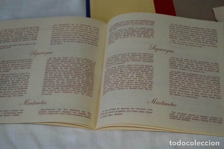 Discos de vinilo: Rarísimo ESTUCHE COMPLETO - TELEFUNKEN 1958 - Selección Antológica del Cante Flamenco - ¡Mira! - Foto 5 - 172110038