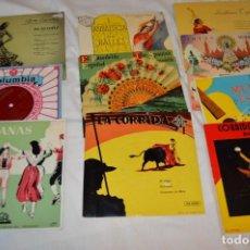Discos de vinilo: LOTE 10 SINGLES / AÑOS 50 - 60, COMPAÑÍAS REGAL, RCA, COLUMBIA, TELEFUNKEN, LA VOZ DE SU AMO ¡MIRA!. Lote 172112080
