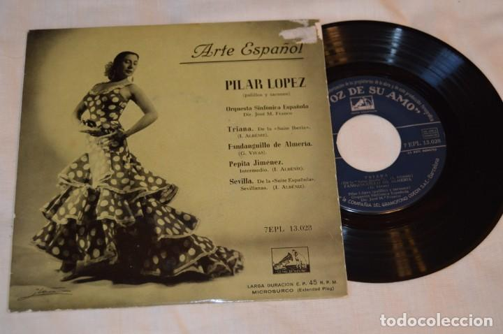 Discos de vinilo: Lote 10 Singles / Años 50 - 60, Compañías REGAL, RCA, COLUMBIA, TELEFUNKEN, LA VOZ DE SU AMO ¡Mira! - Foto 6 - 172112080