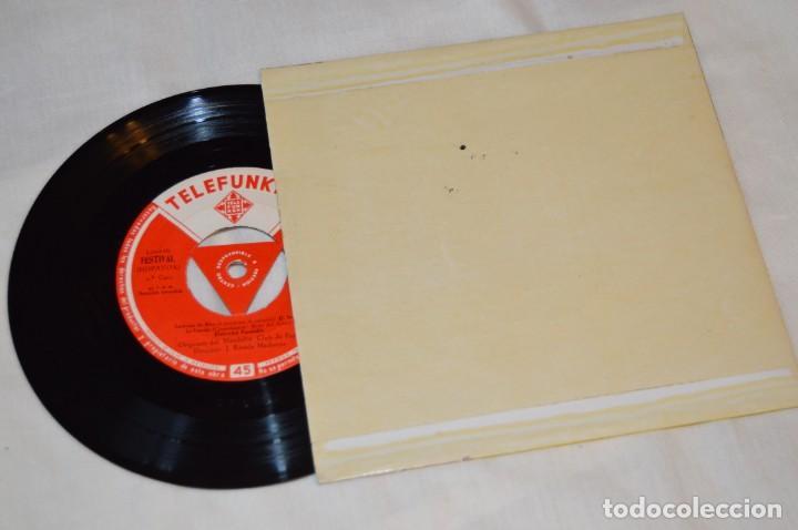 Discos de vinilo: Lote 10 Singles / Años 50 - 60, Compañías REGAL, RCA, COLUMBIA, TELEFUNKEN, LA VOZ DE SU AMO ¡Mira! - Foto 11 - 172112080