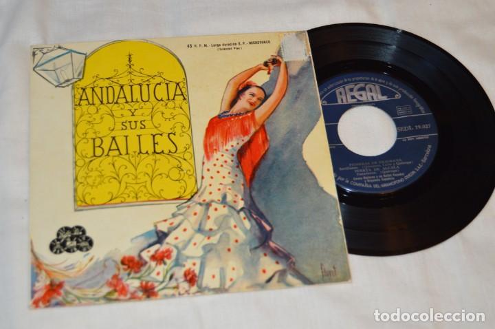 Discos de vinilo: Lote 10 Singles / Años 50 - 60, Compañías REGAL, RCA, COLUMBIA, TELEFUNKEN, LA VOZ DE SU AMO ¡Mira! - Foto 14 - 172112080