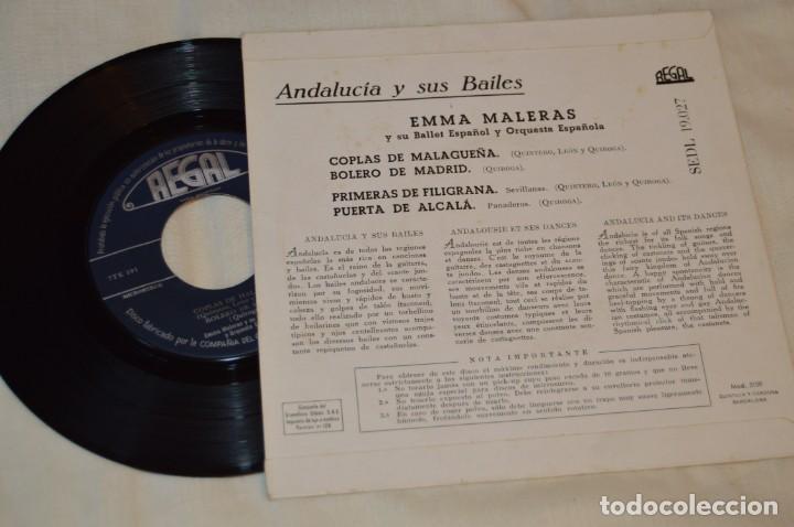Discos de vinilo: Lote 10 Singles / Años 50 - 60, Compañías REGAL, RCA, COLUMBIA, TELEFUNKEN, LA VOZ DE SU AMO ¡Mira! - Foto 15 - 172112080