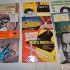 Discos de vinilo: LOTE 10 SINGLES - AÑOS 50/60, COMPAÑÍAS ZAFIRO, RCA, COLUMBIA, TELEFUNKEN, LA VOZ DE SU AMO Y OTRAS.. Lote 172112903