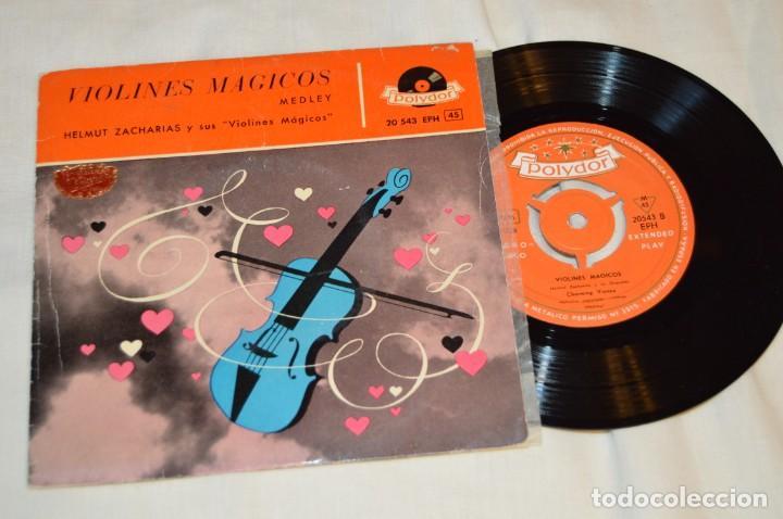Discos de vinilo: Lote 10 Singles - Años 50/60, Compañías ZAFIRO, RCA, COLUMBIA, TELEFUNKEN, LA VOZ DE SU AMO y otras. - Foto 2 - 172112903