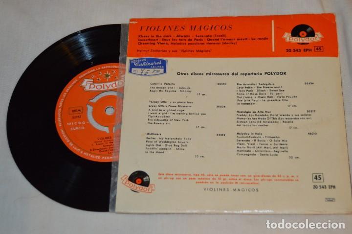 Discos de vinilo: Lote 10 Singles - Años 50/60, Compañías ZAFIRO, RCA, COLUMBIA, TELEFUNKEN, LA VOZ DE SU AMO y otras. - Foto 3 - 172112903