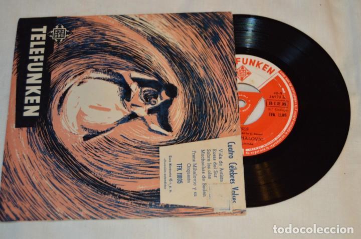 Discos de vinilo: Lote 10 Singles - Años 50/60, Compañías ZAFIRO, RCA, COLUMBIA, TELEFUNKEN, LA VOZ DE SU AMO y otras. - Foto 4 - 172112903
