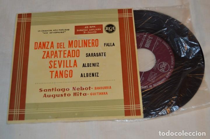 Discos de vinilo: Lote 10 Singles - Años 50/60, Compañías ZAFIRO, RCA, COLUMBIA, TELEFUNKEN, LA VOZ DE SU AMO y otras. - Foto 6 - 172112903