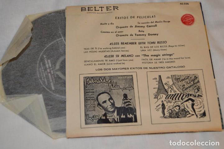 Discos de vinilo: Lote 10 Singles - Años 50/60, Compañías ZAFIRO, RCA, COLUMBIA, TELEFUNKEN, LA VOZ DE SU AMO y otras. - Foto 11 - 172112903
