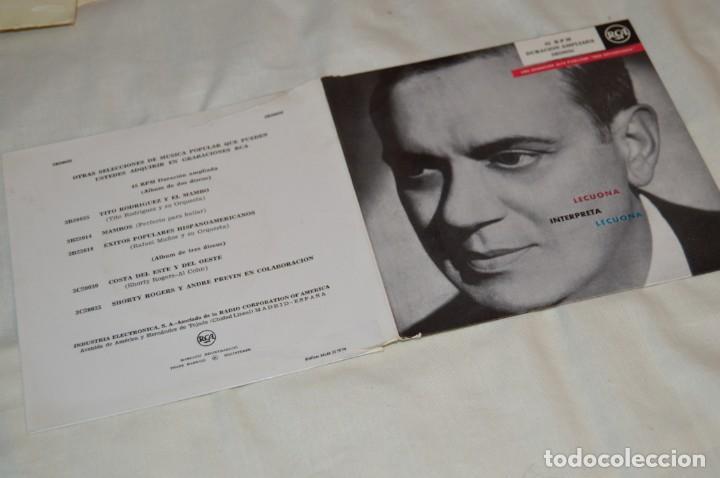 Discos de vinilo: Lote 10 Singles - Años 50/60, Compañías ZAFIRO, RCA, COLUMBIA, TELEFUNKEN, LA VOZ DE SU AMO y otras. - Foto 14 - 172112903