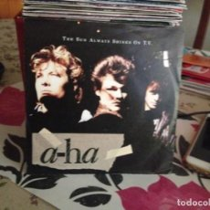 Discos de vinilo: A-HA - THE SUN ALWAYS SHINES ON T.V. SINGLE 7' 1985 GERMANY. Lote 172113403