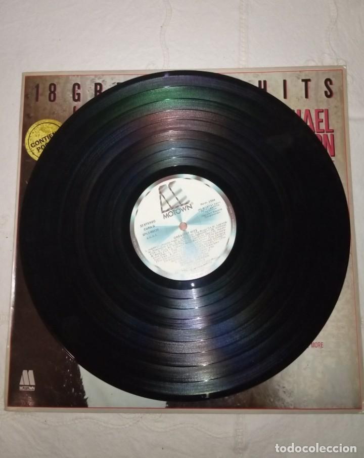 Discos de vinilo: Disco LP más Pósters Original del álbum Michael Jackson 18 Grandes Éxitos. - Foto 3 - 172118139