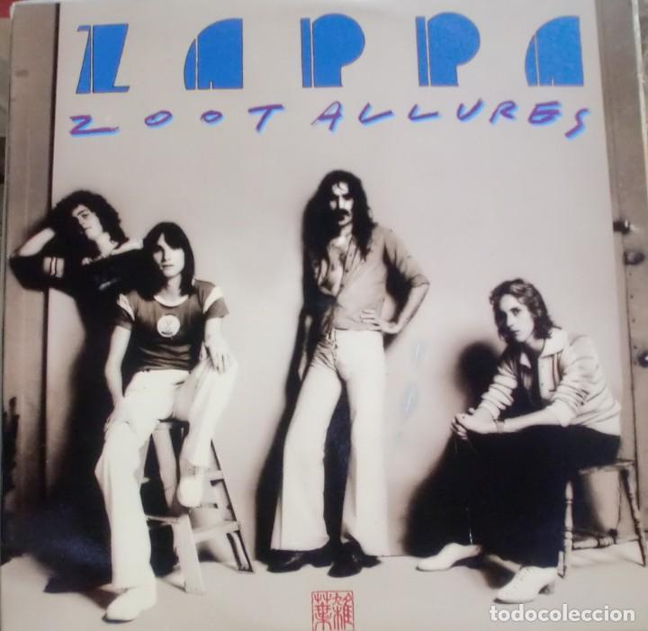 FRAN ZAPPA - ZOOT ALLURES LP SPAIN 1976 (Música - Discos - LP Vinilo - Pop - Rock - Extranjero de los 70)