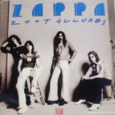 Discos de vinilo: FRAN ZAPPA - ZOOT ALLURES LP SPAIN 1976. Lote 172120259