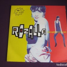 Discos de vinilo: ROZALLA ?SG BLANCO Y NEGRO 1991 PROMO - EVERYBODY'S FREE (TO FEEL GOOD) +1 ELECTRONICA HOUSE DISCO . Lote 172138764