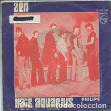 Discos de vinilo: ZEN / HAIR / AQUARIUS (SINGLE 1969). Lote 172142733