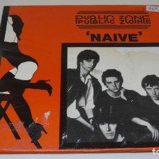 Discos de vinilo: DISCO SINGLE VINILO . PUBLIC ZONE . NAIVE . . Lote 172144804
