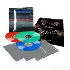 Discos de vinilo: PAUL MCCARTNEY 1976 WINGS OVER AMERICA 2019 3X LP COLOR COLOURED VINYL NEW BEATLES. Lote 172154200