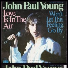 Disques de vinyle: XX JOHN PAUL YOUNG, LOVE IS IN THE AIR, Y DEMAS.. Lote 172168558