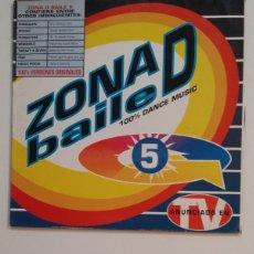 Disques de vinyle: ZONA D BAILE 5. DOBLE LP. TDKDA59. Lote 235801870