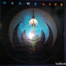 Discos de vinilo: MAGMA – LIVE - [UTOPIA – CYL2-1245_SPAIN 1976] { 2 × VINYL, LP, ALBUM}. Lote 172170592