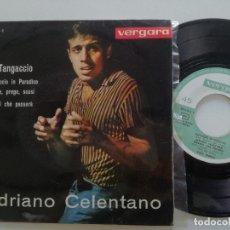 Discos de vinilo: ADRIANO CELENTANO / RICKI GIANCO - IL TANGACCIO +3 - EP VERGARA 1963. Lote 172171605