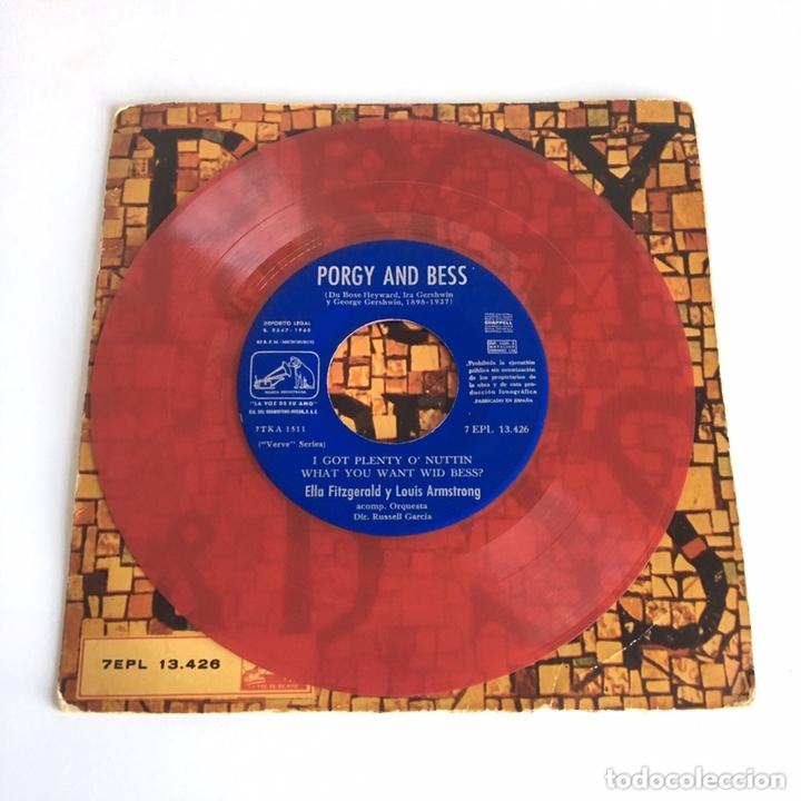 EP VINILO - PORGY AND BESS / ELLA FITZGERALD & LOUIS ARMSTRONG (Música - Discos de Vinilo - EPs - Jazz, Jazz-Rock, Blues y R&B)