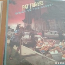 Discos de vinilo: PAT TRAVERS HEAT IN THE STREET LP INSERTO. Lote 172177190