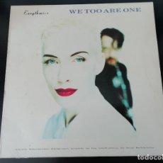 Discos de vinilo: EURYTHMICS: WE TOO ARE ONE - LP (1989). Lote 172177370
