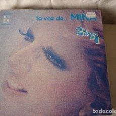Discos de vinilo: MINA LA VOZ DE... MINA. Lote 172177682