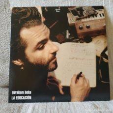 Discos de vinilo: ABRAHAM BOBA - LA EDUCACION - LP VINILO + INSERTO SPAIN DEL AÑO 2009 LEON BENAVENTE EN ESTADO NUEVO. Lote 172179988