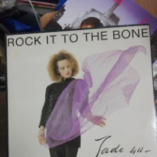 Discos de vinilo: JADE 4U – ROCK IT TO THE BONE. SELLO: EPIC – EPC 654991 6. 1989. ACID HOUSE, NEW BEAT.COMO NUEVO. Lote 172181567