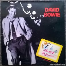 Discos de vinilo: DAVID BOWIE. ABSOLUTE BEGINNERS (BSO). VIRGIN, UK 1986 MAXI-LP + DOBLE CARPETA (VSG 838-12). Lote 172181798