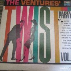 Discos de vinilo: THE VENTURES - TWIST PARTY VOL. 2 LP - ORIGINAL U.S.A. - DOLTON RECORDS 1962 - MONOAURAL -. Lote 172182499