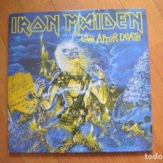 Discos de vinilo: IRON MAIDEN - LIVE AFTER DEATH 2LP VINYL 1985 CON LIBRETO. Lote 172182548