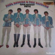 Discos de vinilo: PAUL REVERE & HE RAIDERS - GREATEST HITS LP - ORIGINAL U.S.A COLUMBIA 1967 LIBRETO DE FOTOS - . Lote 172184775