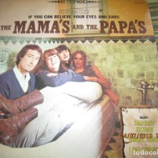 Discos de vinilo: THE MAMAS AND THE PAPAS - IF YOU CAN BELIEVE YOUR EYES AND EARS LP - ORIGINAL U.S.A. - DUNHILL 1966 . Lote 172185784