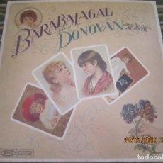 Discos de vinilo: DONOVAN - BARABAJAGAL LP - ORIGINAL U.S.A. - EPIC RECORDS 1969 - STEREO - YELLOW LABEL . Lote 172186697