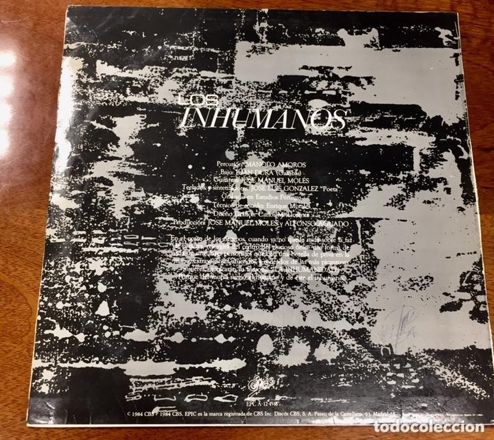 Discos de vinilo: Los Inhumanos. Eres una foca. - Foto 2 - 172190950