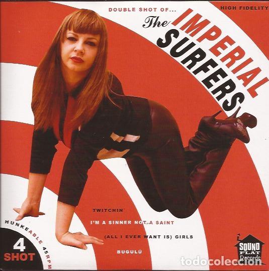 EP THE IMPERIAL SURFERS SHOT 4 SOUND FLAT REC. (Música - Discos de Vinilo - EPs - Rock & Roll)