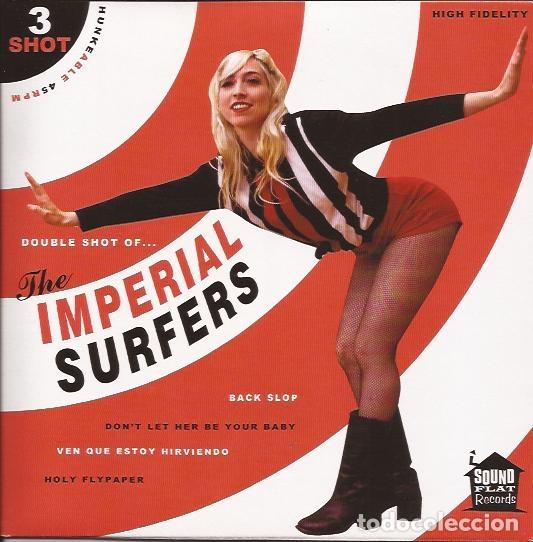 EP THE IMPERIAL SURFERS SHOT 3 SOUND FLAT REC. (Música - Discos de Vinilo - EPs - Rock & Roll)