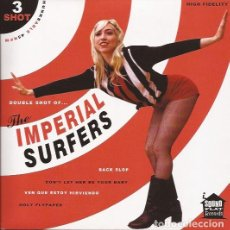 Discos de vinilo: EP THE IMPERIAL SURFERS SHOT 3 SOUND FLAT REC.. Lote 172197250