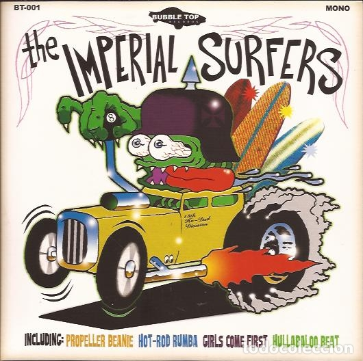 EP THE IMPERIAL SURFERS HOT ROD RUMBA BUBBLE TOP 001 (Música - Discos de Vinilo - EPs - Rock & Roll)