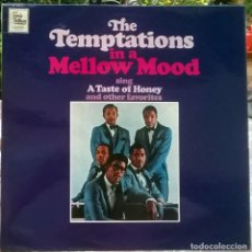 Discos de vinilo: THE TEMPTATIONS IN A MELLOW MOOD. TALMA MOTOWN, UK 1967 LP (STML 11068). Lote 172206924