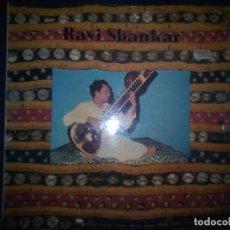 Discos de vinilo: RAVI SHANKAR – RAVI SHANKAR - (LP DOBLE) [TRANSATLANTIC RECORDS–GUIMBARDA – 30522069/70- SPAIN 1983]. Lote 172218115