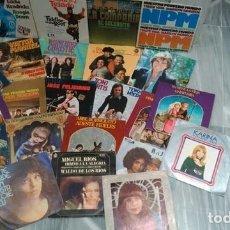 Discos de vinilo: LOTE 23 DISCOS VINILO SINGLE - DIFERENTES ESTILOS. Lote 172220869