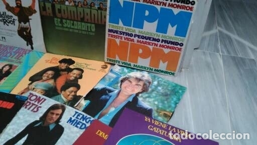 Discos de vinilo: LOTE 23 DISCOS VINILO SINGLE - DIFERENTES ESTILOS - Foto 2 - 172220869