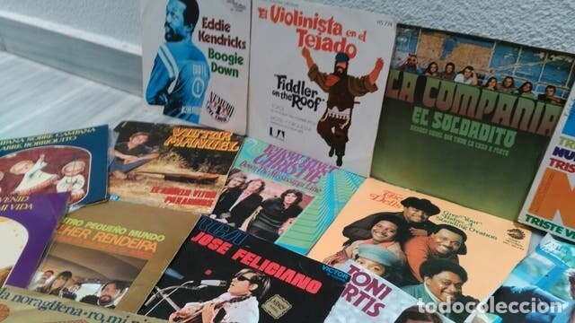 Discos de vinilo: LOTE 23 DISCOS VINILO SINGLE - DIFERENTES ESTILOS - Foto 3 - 172220869